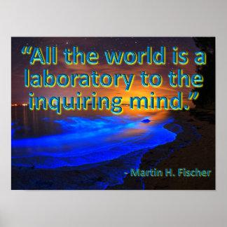 Todo el mundo es un laboratorio póster