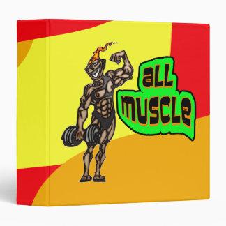 """Todo el músculo carpeta 1 1/2"""""""