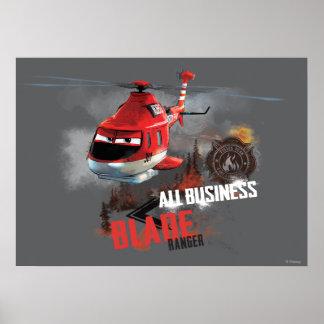 Todo el negocio póster