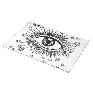 ¡Todo el ojo místico que ve le mira - conseguir un Manteles