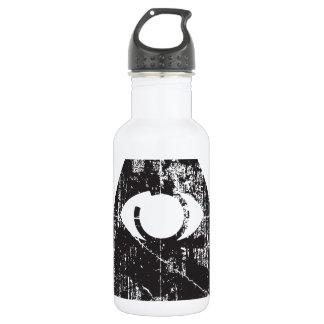 Todo el ojo que ve botella de agua de acero inoxidable