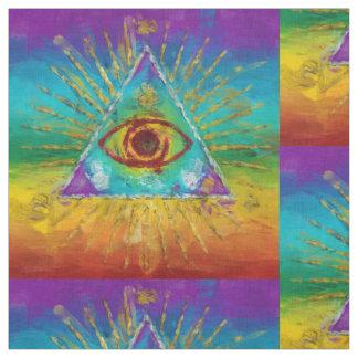 Todo el ojo que ve de dios - arte incompleto telas