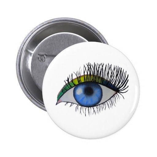 Todo el ojo que ve pin redondo 5 cm