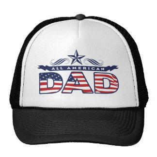 Todo el papá americano gorras