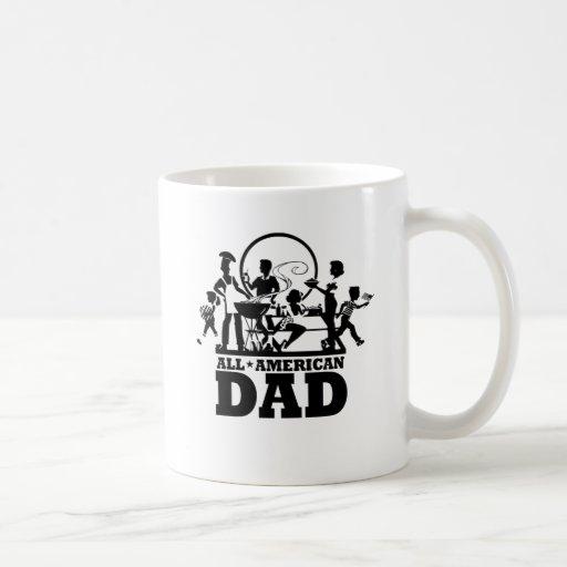 Todo el papá americano taza de café