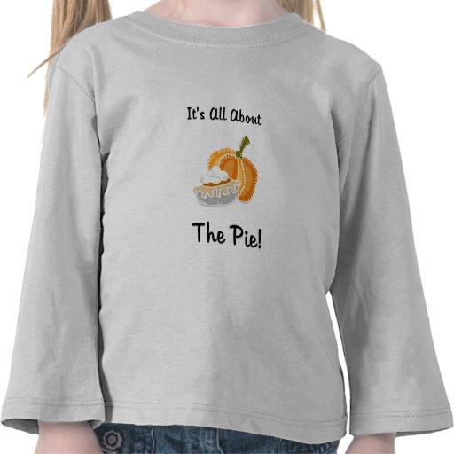 Todo el pastel de calabaza camiseta