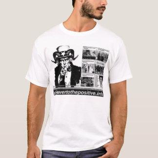 ¡Todo el poder al positivo! Camiseta #2