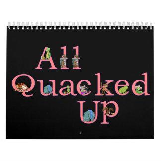 ¡Todo el Quacked encima del calendario 2008 en