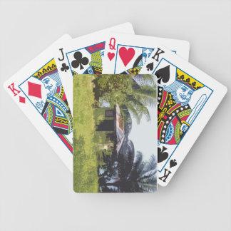 Todo el que se pone verde cartas de juego