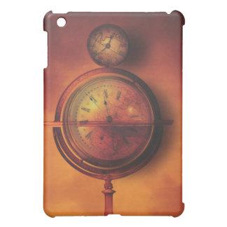 Todo el tiempo en el globo del reloj de Steampunk