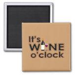 Todo el vino, todo el tiempo imanes de nevera