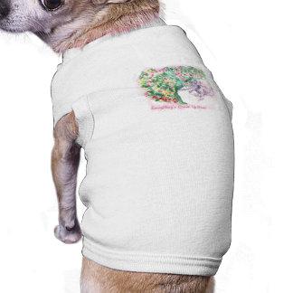 Todo es Comin encima de la camiseta del mascota de Playera Sin Mangas Para Perro