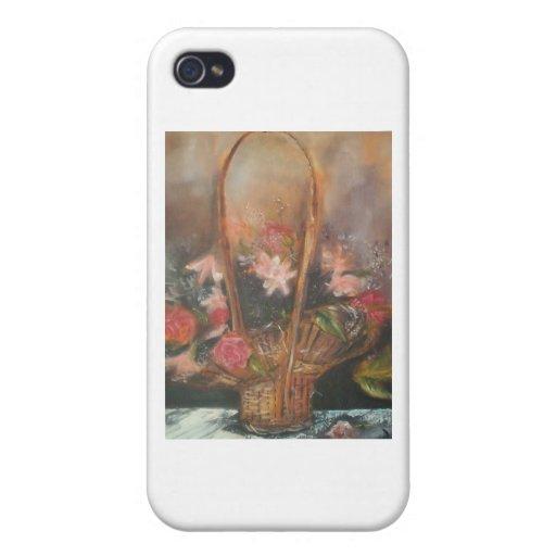 Todo es diseños florales iPhone 4 cárcasas