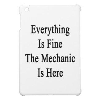 Todo es el mecánico está muy bien aquí iPad mini cárcasa