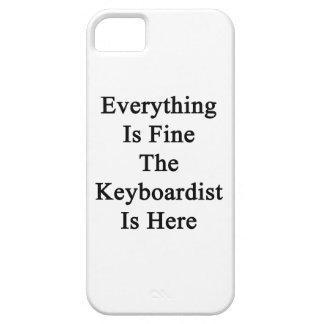 Todo es el teclista está muy bien aquí iPhone 5 carcasa