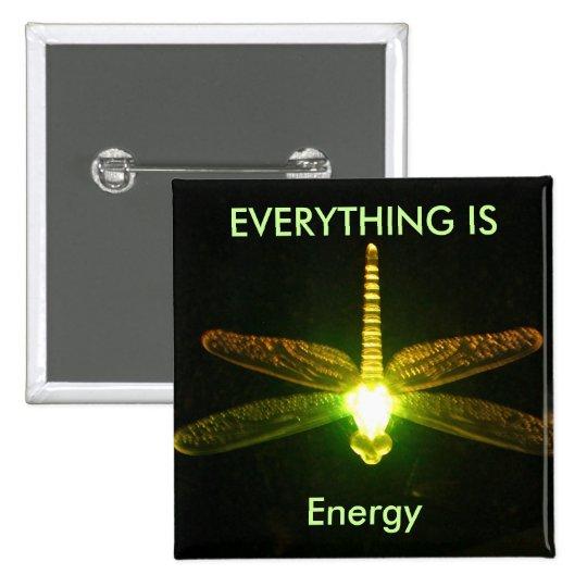 Todo es energía pin cuadrado