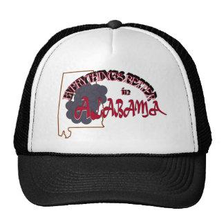 Todo es mejor en el casquillo de Alabama Gorros Bordados