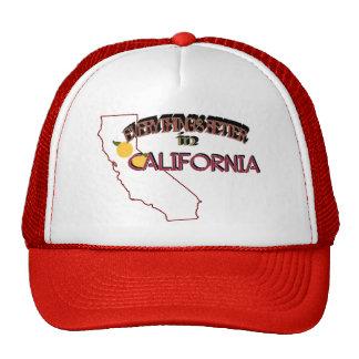 Todo es mejor en el casquillo de California Gorros Bordados