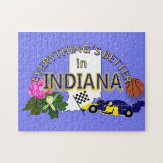 Todo es mejor en el rompecabezas de Indiana