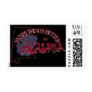 Todo es mejor en el sello de Alabama