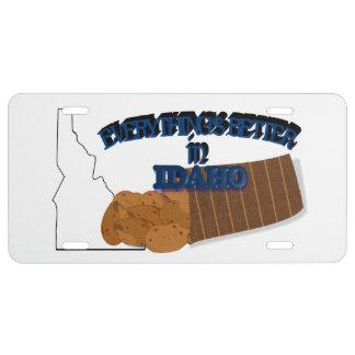 Todo es mejor en la placa de Idaho Placa De Matrícula