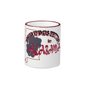 Todo es mejor en la taza de Alabama
