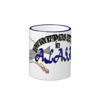 Todo es mejor en la taza de Alaska