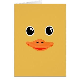 Todo es pato Ducky del bebé Tarjeta De Felicitación