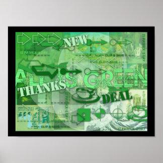 Todo es - St Patrick y más - poster verde