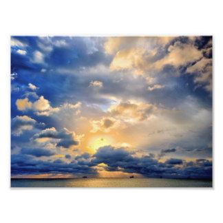 """Todo ese cielo permite - 14"""" x 11"""" impresiones fotográficas"""