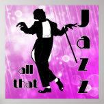 Todo ese jazz en rosa posters