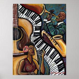 Todo ese poster del jazz póster