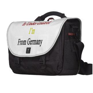 Todo está bajo control que soy de Alemania Bolsa Para Ordenador