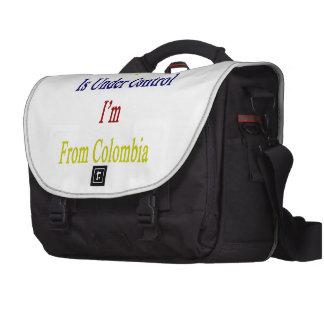 Todo está bajo control que soy de Colombia Bolsa Para Ordenador