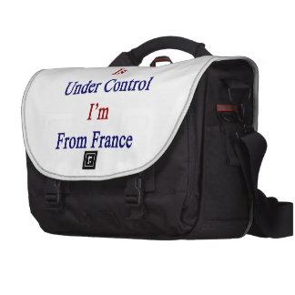 Todo está bajo control que soy de Francia Bolsas Para Ordenador