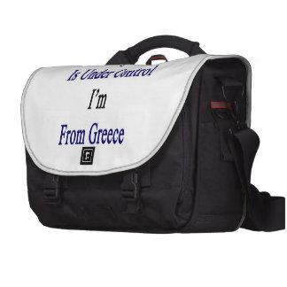 Todo está bajo control que soy de Grecia Bolsas Para Portatil