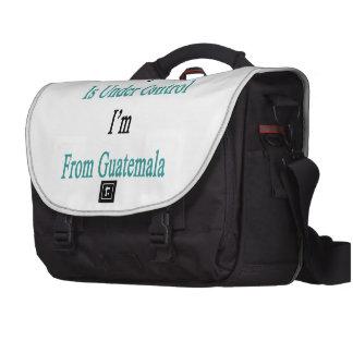 Todo está bajo control que soy de Guatemala Bolsas Para Portatil