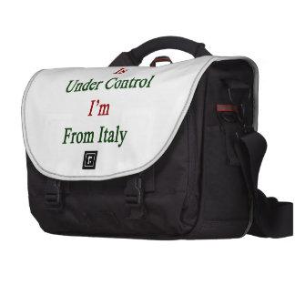 Todo está bajo control que soy de Italia Bolsas Para Ordenador