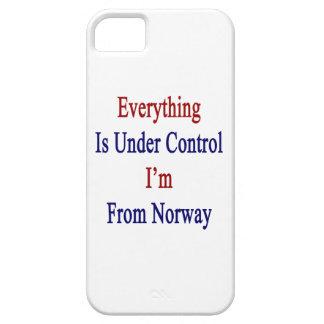 Todo está bajo control que soy de Noruega iPhone 5 Protector