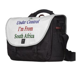 Todo está bajo control que soy de Suráfrica. Bolsas Para Ordenador