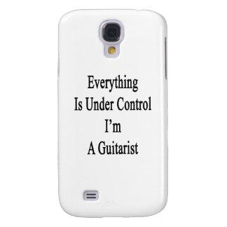 Todo está bajo control que soy un guitarrista funda para galaxy s4