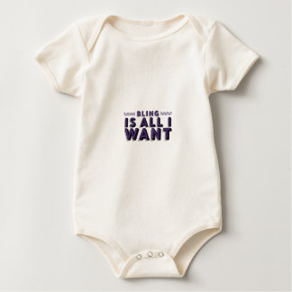 Todo I Want es Bling Body De Bebé