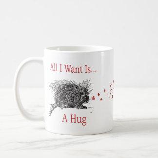 Todo I Want es un arte del puerco espín de la Taza De Café