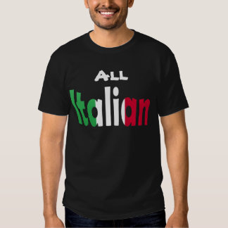 Todo italiano playeras