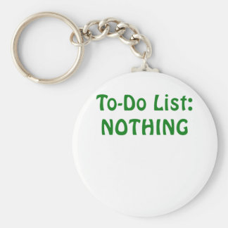 Todo List Nothing Keychain