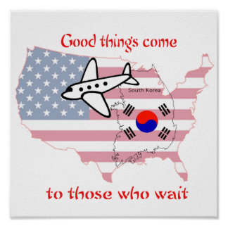 todo llega para quien sabe esperar - adopti corean póster