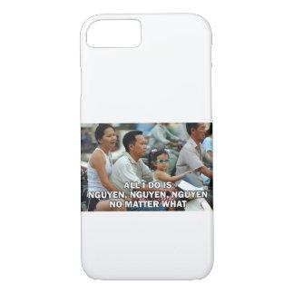 Todo lo que lo hago es Nguyen (triunfo) 006 Funda iPhone 7