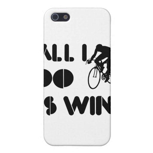 Todo lo que lo hago es triunfo en el ciclo iPhone 5 carcasa