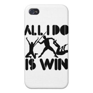 Todo lo que lo hago es triunfo en el Decathlon iPhone 4/4S Carcasa