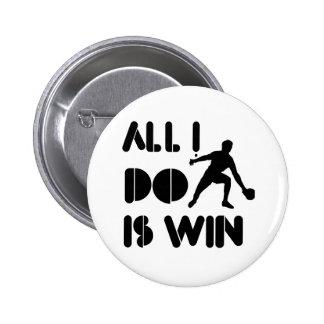 Todo lo que lo hago es triunfo en el ping-pong pin redondo 5 cm